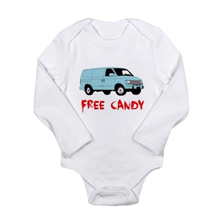 Free Candy Long Sleeve Infant Bodysuit