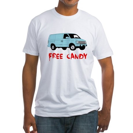 Free Candy Fitted T-Shirt