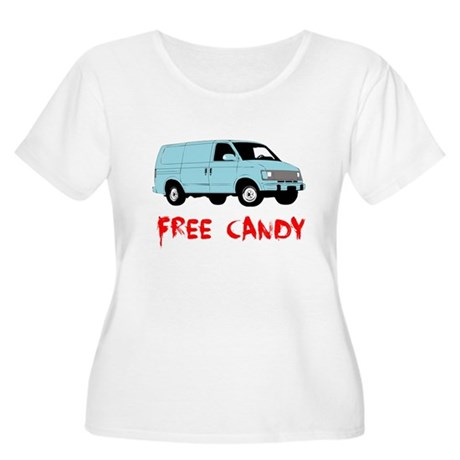 Free Candy Plus Size Scoop Neck Shirt