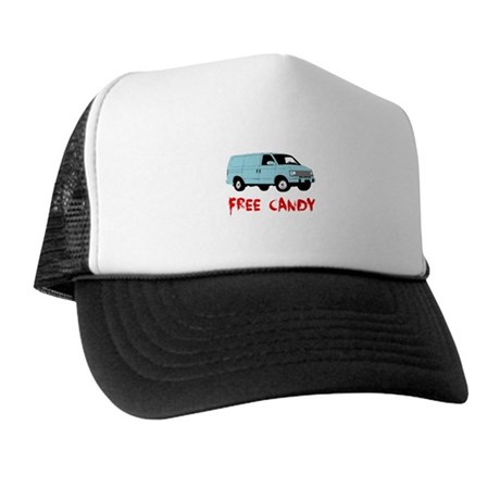 Free Candy Trucker Hat
