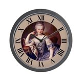 MARIE ANTOINETTE Wall Clock