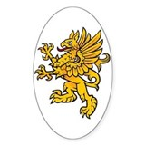 Gryphon Oval Decal
