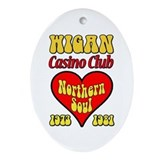 Wigan Casino Club Northern Soul 1973-1981 Ornament