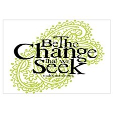 Obama - Change We Seek - Green