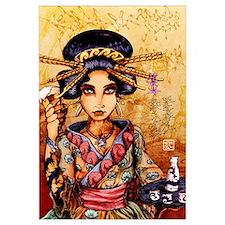 Geisha w/ Beer and Sake