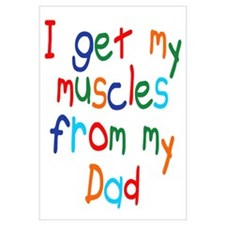 Muscles from Dad