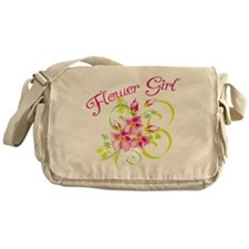 Paradise Flower Girl Messenger Bag