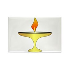 UU Chalice Rectangle Magnet (100 pack)