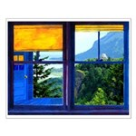 Window on the Gorge - Small Poster