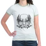 Whitetail Euro Mount Jr. Ringer T-Shirt