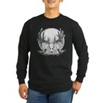 Whitetail Euro Mount Long Sleeve Dark T-Shirt