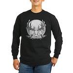 Whitetail Euro Mount Long Sleeve Dark T-Shirt