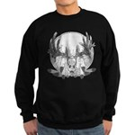 Whitetail Euro Mount Sweatshirt (dark)