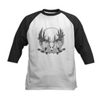 Whitetail Euro Mount Kids Baseball Jersey