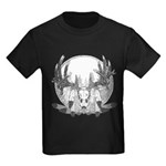 Whitetail Euro Mount Kids Dark T-Shirt