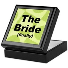 Finally the Bride Gift Trinket Keepsake Box