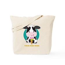 Cow Ice Cream Tote Bag