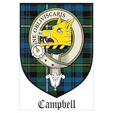 Campbell Clan Crest Tartan
