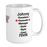 Johnny Fever Ceramic Mugs