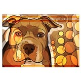 Abstract Dog Print