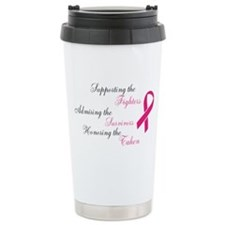 Supporting, Admiring, Honoring, Ceramic Travel Mug