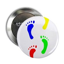 "FOOTPRINTS IN THE LIGHT™ 2.25"" Button (10 pack)"