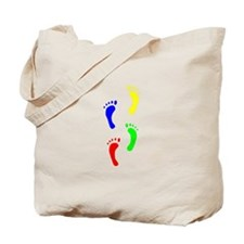 FOOTPRINTS IN THE LIGHT™ Tote Bag