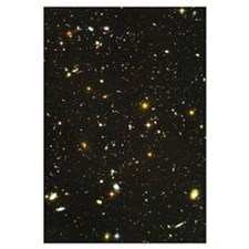 10,000 Galaxies Mini Astronomy Print