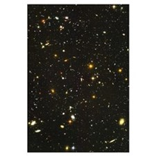 10,000 Galaxies Mini Astronomy Print