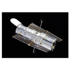 Hubble Space Telescope Space Print