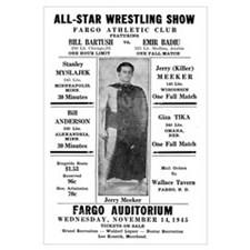 1945 Fargo All-Star Wrestling Show