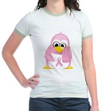 Breast Cancer Pink Penguin T