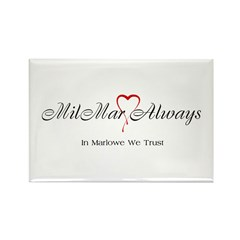 MilMar Rectangle Magnet (10 pack)