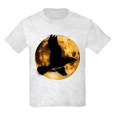 Full Moon with Raven T-Shirt