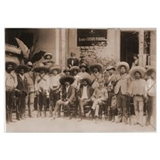 Emiliano Zapata and His Men Photo Print