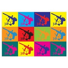 Paintball Pop Art