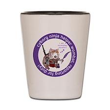 Funny Wombat Shot Glass