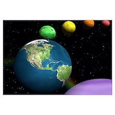 Rainbow Planets