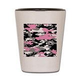 PINK CAMO Shot Glass