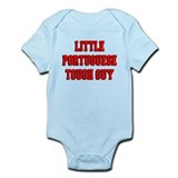 Little Portuguese Tough Guy Infant Bodysuit