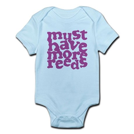 More Reeds Infant Bodysuit
