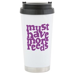 More Reeds Ceramic Travel Mug