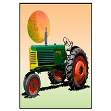 Cute Oliver tractors Wall Art