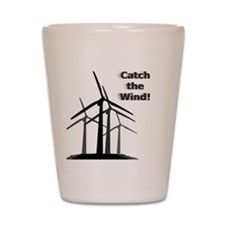 Catch the Wind Shot Glass