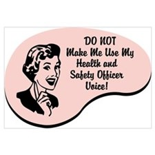 Health and Safety Officer Voice
