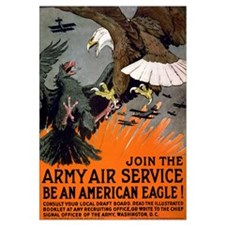 "16"" x 20"" WWI ""Be an American Eagle"""