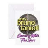 Mrs. Bruno Tanioli Dancing With The Stars Greeting
