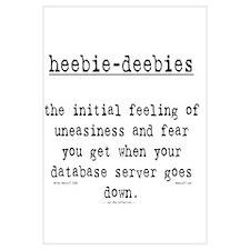 heebie-deebies