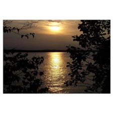Scenic Sebago Lake Maine Suns