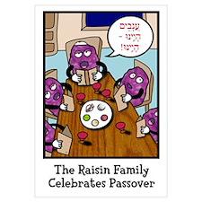 """The Raisin Family Celebrates"" (Heb)"